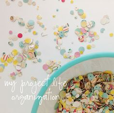 stephanie makes: my project life organization
