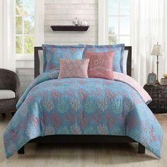 Venice Beach 5-Piece Comforter Set - BedBathandBeyond.com