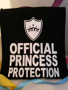 He's your prince charming, knight in shining armor, and your official protection!! -T-shirt for him!