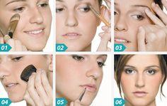 Maquiagem para o Dia Passo a Passo! Como Fazer? Veja: http://www.aprendizdecabeleireira.com/2015/02/maquiagem-para-o-dia.html