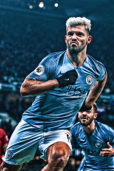 King Kun Aguero Best Football Players, Football Boys, Soccer Players, Soccer World, World Football, Messi 10, Lionel Messi, Germany Football, Manchester City