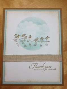 "Stampin' Up! ""Wetlands"" stamp set ..."
