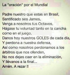 Oración para el mundial!