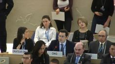 The head of a watchdog organization called out Arab states at a UN Human Rights Council meeting in Switzerland this...