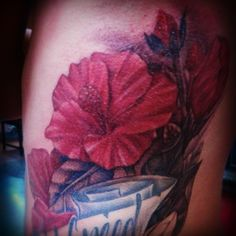 A hibiscus for a Mom from Hawaii done by Latisha Wood :)