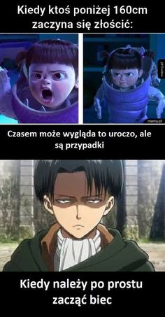 Memy, gify, obrazki i wiele innych! #humor # Humor # amreading # books # wattpad Wtf Funny, Funny Cute, Short People Problems, Polish Memes, Anime Mems, My Bebe, Funny Mems, Attack On Titan Art, Anime Japan