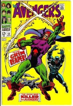 Avengers No. 52