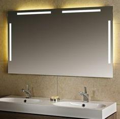 Lux Aqua Design Spiegel Lichtspiegel Badezimmerspiegel Led Lampe Mit