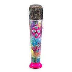 New Totally 80s Glitter Microphone