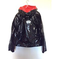Jacket Emporio Armani Black size 48 IT in Synthetic - 7751096 Armani Black, Armani Men, Emporio Armani, Armani Jacket, Pvc Coat, Sleeves, Jackets, Clothes, Collection