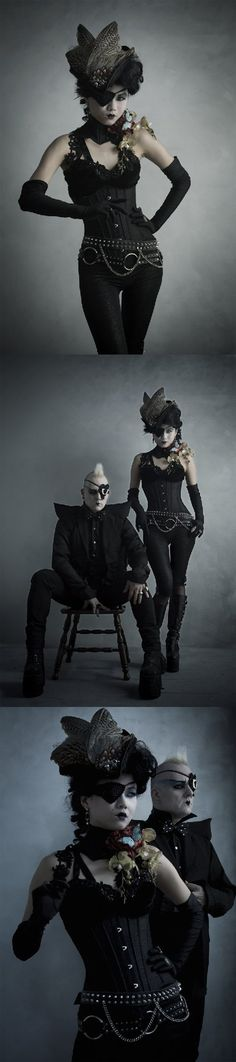 Gothic steampunk - http://electradesigns.net/ - Photo by Adrian Buckmaster