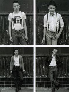 By Derek Ridgers, 1979. (scan)