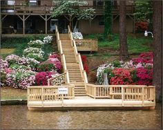 How to Build a Lake Pier | What is involved in building a dock at my lakeside Central GA home ...