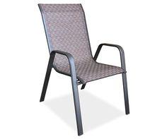 Ashford Brown Sling Patio Chair At Lots