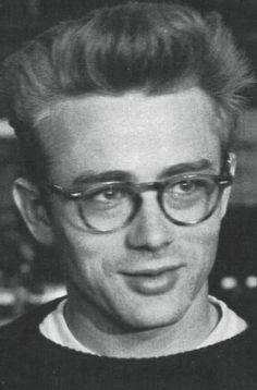 James Dean I love him in his glasses
