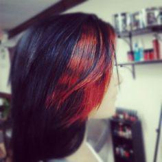 Color pop hair by M Gentry Hair Designs