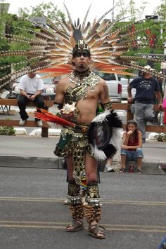 Aztec dancer at Albuquerque