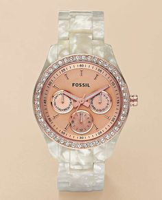 Love fossil watches - this is the one I really want!!!!!!! :)