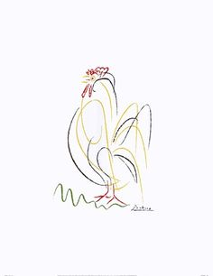 Rooster by Pablo Picasso art print