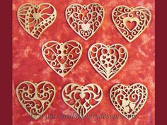 Resultado de imagen de scroll saw christmas ornament patterns free