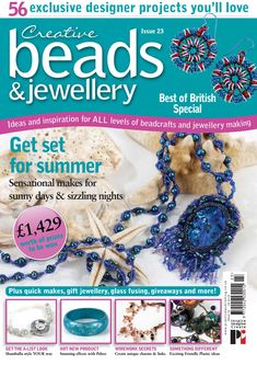 Issuu is a digital publishing platform that makes it simple to publish magazines, catalogs, newspapers, books, and more online. Easily share your publications and get them in front of Issuu's millions of monthly readers. Title: Creative Beads and Jewellery 23, Author: Practical Publishing, Name: Creative Beads and Jewellery 23, Length: 100 pages, Page: 1, Published: 2016-08-05 Diy Jewelry, Jewelry Making, Beaded Jewelry, Right Angle Weave, Book Crafts, Craft Books, Beading Patterns, Book And Magazine, Beads