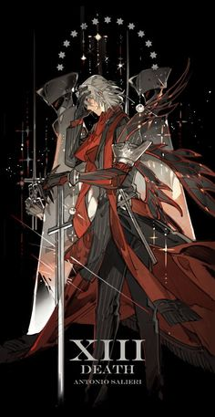 Fate/Meme Order added a new photo. Fate Characters, Fantasy Characters, Film Anime, Manga Anime, Anime Artwork, Fantasy Artwork, Manga Japan, Antonio Salieri, Fate Stay Night Series