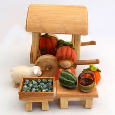 Farmer's Market Gnome Set