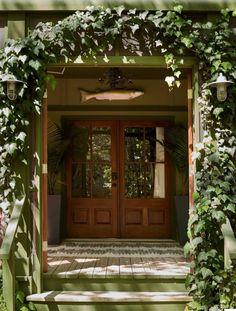 Inside a Florida Home with Outdoor Spirit – Garden & Gun Powell Gardens, Cabin Plans, House Plans, Florida Home, Home Interior Design, House Tours, Beautiful Homes, Family Room, Home And Garden