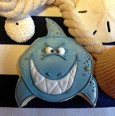 shark attack cookie