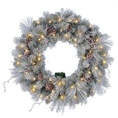 "Outdoor Lighted Wreath Classy Regal Prelit Led Christmas Wreath26""  Новогодние Венки Decorating Inspiration"
