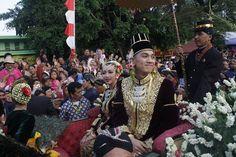 Penari Edan-edanan di Pernikahan Agung Keraton Yogyakarta