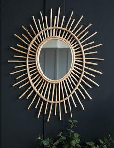 Bamboo Eye Mirror at Rose & Grey