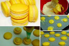 Des macarons au citron, recette facile !