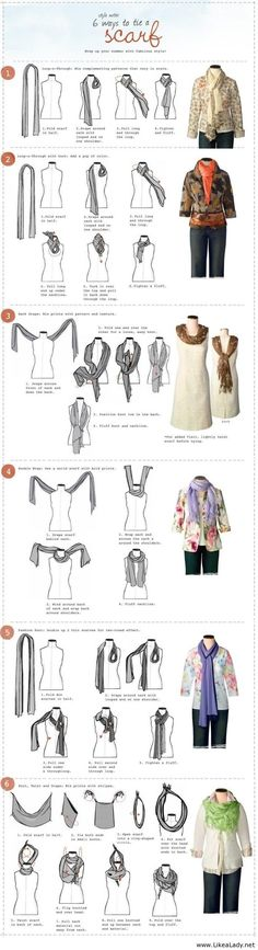 How to tie your scarf