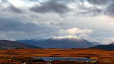 Postcards From Ireland: CONNEMARA vivid colours and snowy mountain tops
