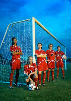 soccer team photo poses - Google Search