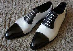 Men Spectator Shoes, Men Black And White Formal Shoes, Mens Dress Shoes