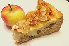 Bratapfelkuchen mit Zimt - Marzipan (Rezept mit Bild) | Chefkoch.de