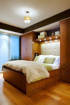 built in closets around bed | 20,140 closet around bed Home Design Photos