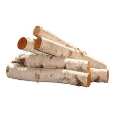 """Vickerman T12012 16"""" Birch Log Bundle"""