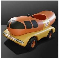 Weinermobile pedal car!!!! Xo