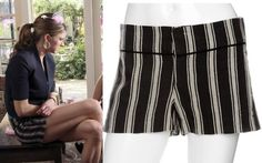 Mistresses pilot: Josslyn/Joss' (Jes Macallan) NSF Clothing Stripe Shorts #getthelook #mistresses