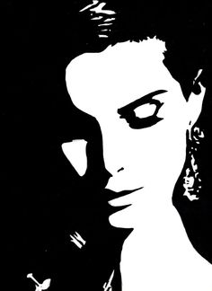 Lana Del Rey by vindfjell on DeviantArt Audrey Hepburn Art, Deco Studio, Stippling Art, Posca Art, Outline Art, Polygon Art, Dark Art Drawings, Shadow Art, Futuristic Art