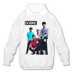 Dobre Brothers Music//Rock//Singer Cotton Round Neck Short Sleeve T-Shirt for Teen Boys and Girls Classic Fit White