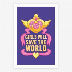 Girls Will Save The World poster | HUMAN