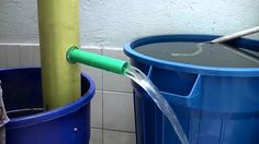 This Video shows how to make a manual, hand operated water pump at home, with a PVC tube, and a few small