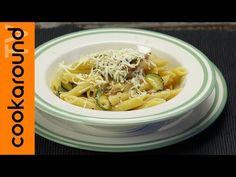 Penne speck, zucchine e ricotta salata / Ricette semplici e veloci - YouTube