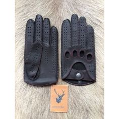 Driving Gloves . Made from deer leather. #driving #gloves #leather…