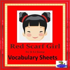 Red Scarf Girl Vocabulary Sheets. 4 weeks of vocabulary based on the novel Red Scarf Girl by Ji Li Jiang. The lists can be projected on your white board, and students can fill in the words on their matching study guides. You can have students put their vocabulary words in their very own little red book, which is available in my literature guide for this novel.