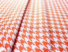 Riley Blake Medium Houndstooth Orange C970-60